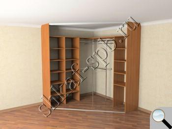Проекты скошенного углового шкафа купе санкт-петербург (спб).